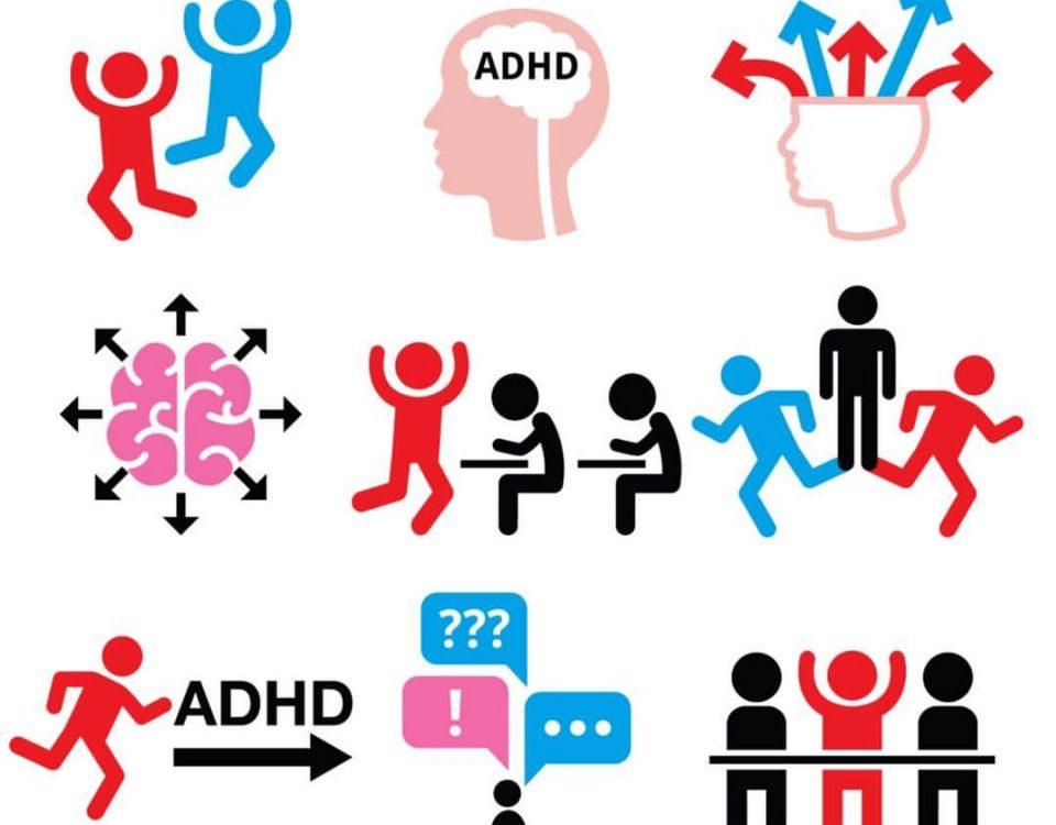 انواع بیش فعالی ADHD