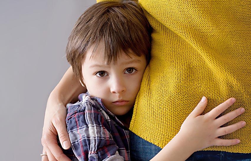 ترس در کودکان